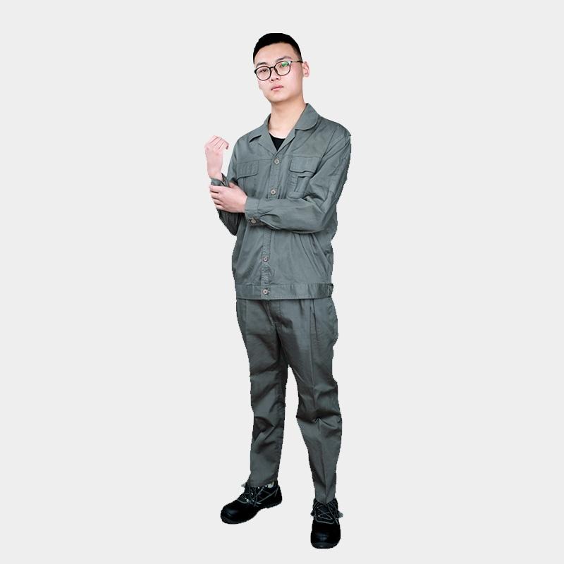 工作服男春秋劳保服套装男防烫耐磨夏季工装男士劳动电焊工服纯棉