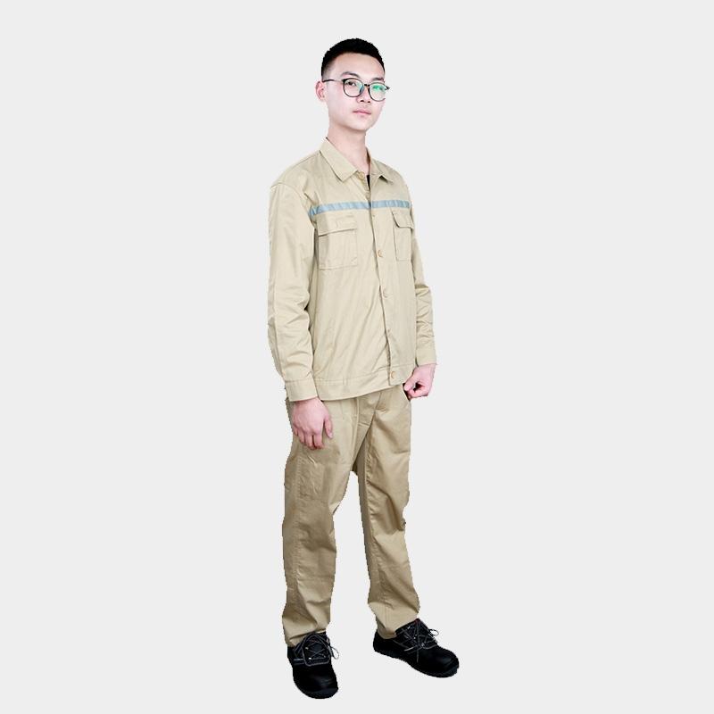 夏季长袖薄款工作服套装防静电服