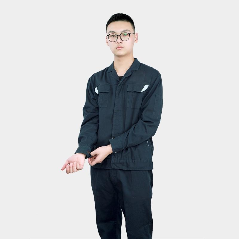 长袖四季工作劳保服电焊服套装