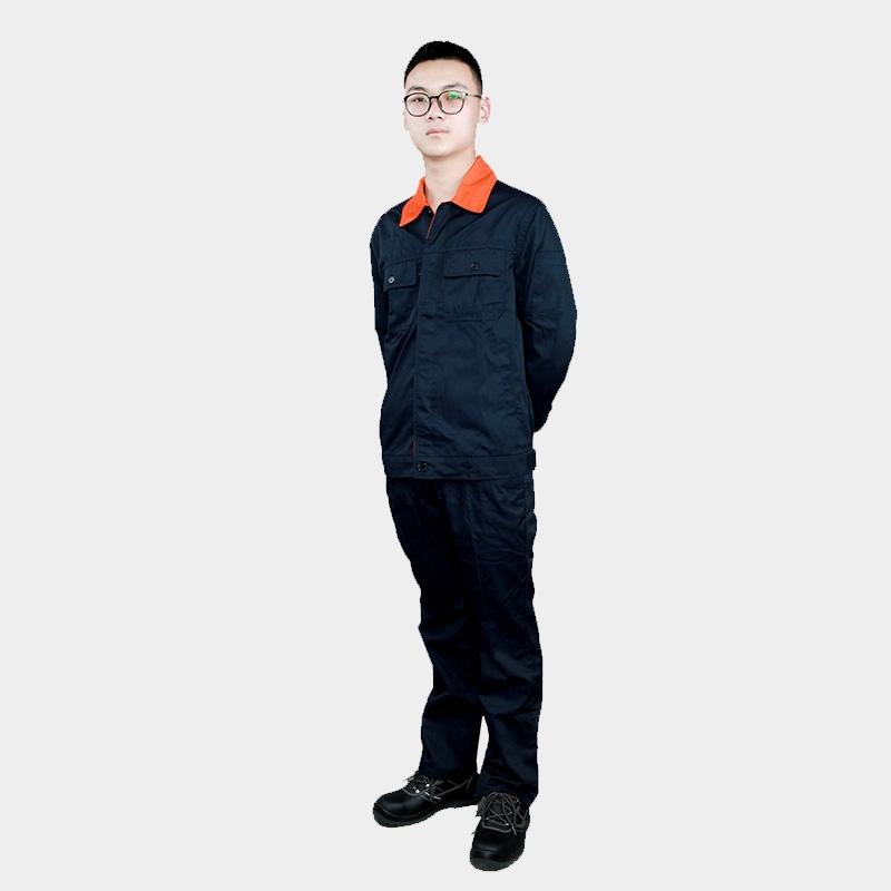 春秋长袖工作服套装男劳保工厂服维修汽修车夏季薄款耐磨上衣定制