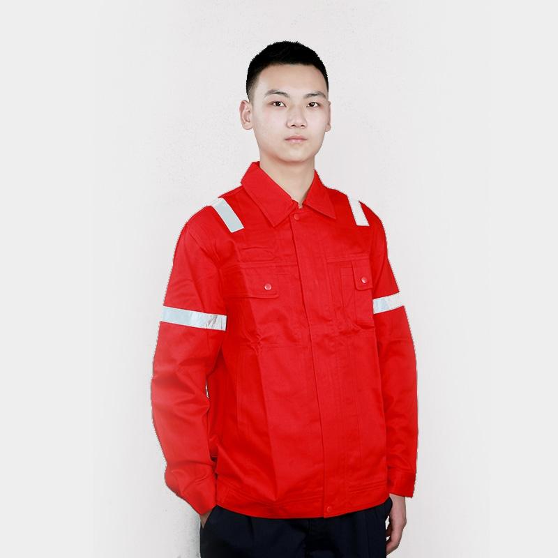 短袖工作服套装男工服工衣上衣劳保服汽修工厂工作服工装定制耐磨