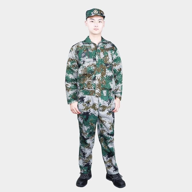 迷彩服套装男丛林荒漠军训服夏季薄款女军装特种兵耐磨劳保工作服