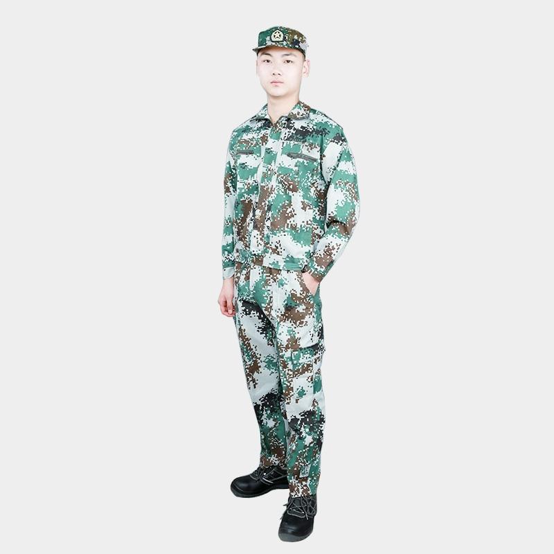 迷彩服套装男夏季薄款男士特种兵正品军训服女耐磨工装劳保工作服