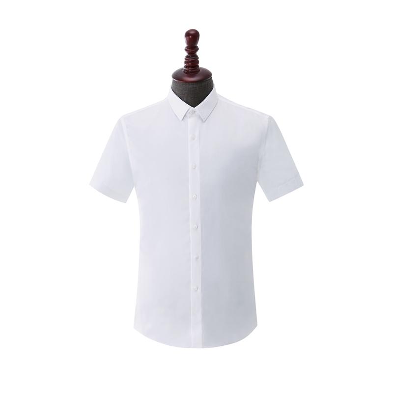 男士成衣免烫短袖-HC553