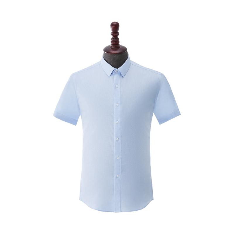 男士成衣免烫短袖-HC555