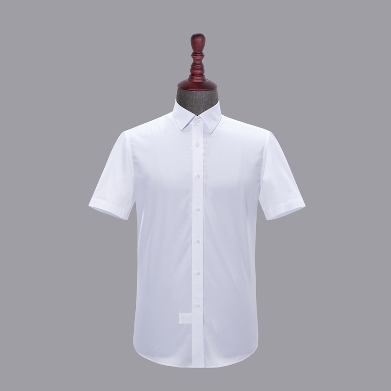 男士成衣免烫短袖-HC550