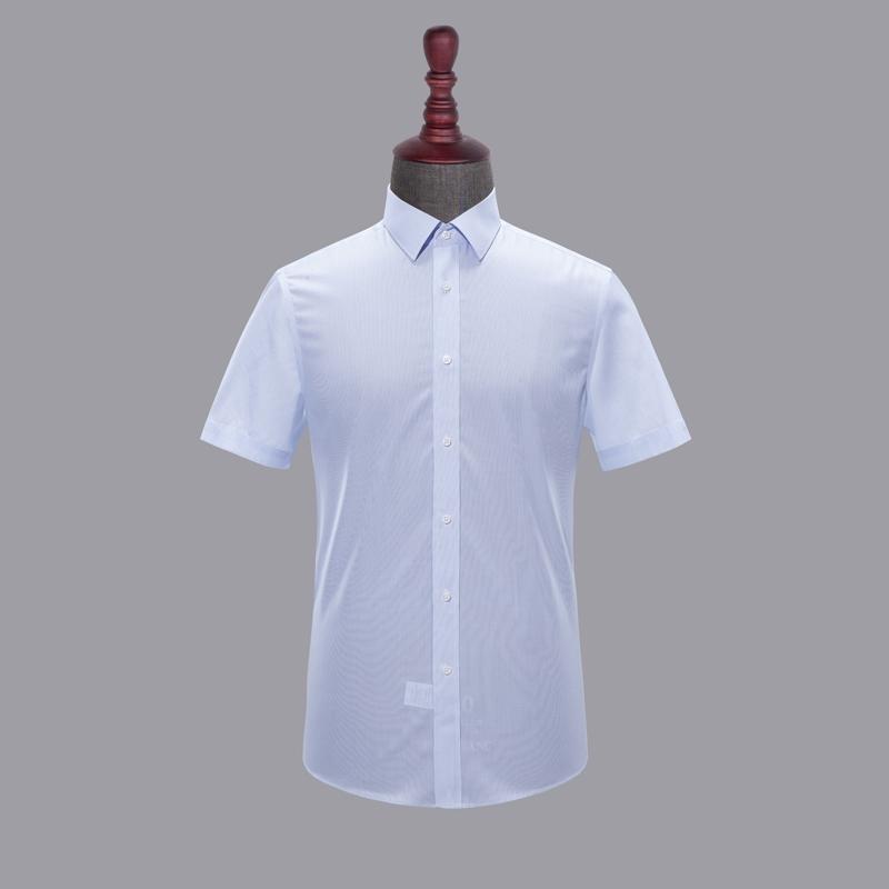 男士成衣免烫短袖-HC551