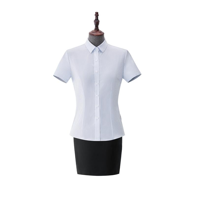 女士成衣免烫短袖-NC552A