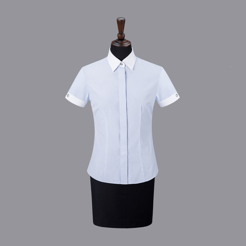 女士衬衣现货-NC505A