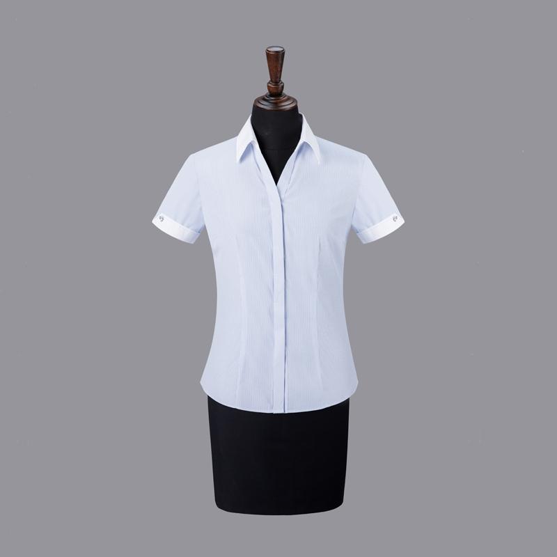 女士衬衣现货-NC505B